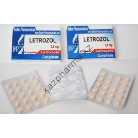 Летрозол Balkan Pharmaceuticals 20 таблеток (1таб 2.5 мг)