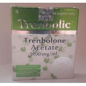 Тренболон ацетат Cooper 5 ампул по 1мл (1амп 100 мг)