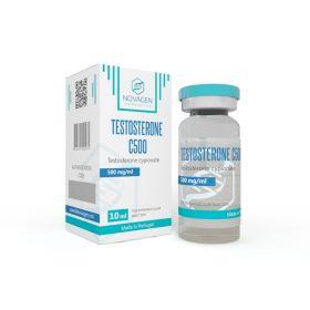 Тестостерон ципионат Novagen Testosterone C500 флакон 10 мл (1мл 500мг)