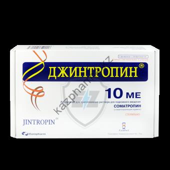 Гормон роста Jintropin GeneScience 10 флаконов / 10IU (370 мкг/IU) - Астана