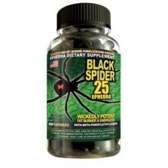 Жиросжигатель Black Spider 25 (100 капсул) - Астана