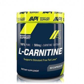 Жиросжигатель API- L-Carnitine 60 капсул - Астана