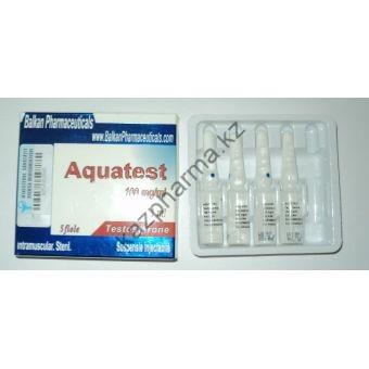 Aquatest (Суспензия Тестостерона) Balkan 10 ампул по 1мл (1амп 100 мг) - Астана