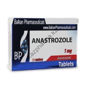 Анастрозол Balkan Anastrozole 20 таблеток (1таб 1мг)  - Астана