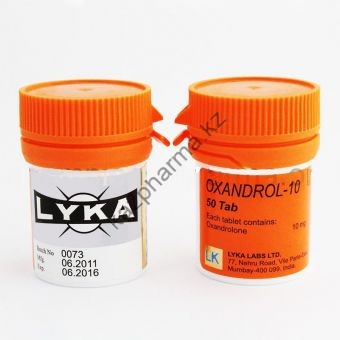 Оксандролон Lyka Labs 100 таблеток (1таб 10 мг) - Астана