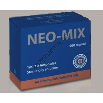 Нео-микс (oil) RADJAY 10 ампул по 1мл (1амп 500 мг) - Астана