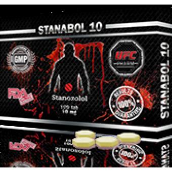 Stanabol (Станозолол, Винстрол) UFC Pharm 100 таблеток (1таб 10 мг) - Астана