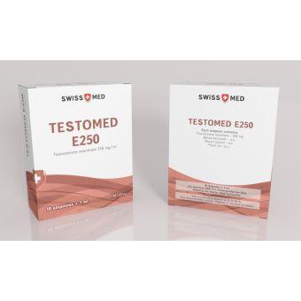Тестостерон энантат Swiss Med Testomed E250 (10 ампул) 250мг/1мл
